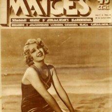 Coleccionismo de Revistas y Periódicos: IMATGES Nº 8 - SETMANARI GRÀFIC D'ACTUALITAT 30 VII 1930 -EN CATALÁN. Lote 29464155