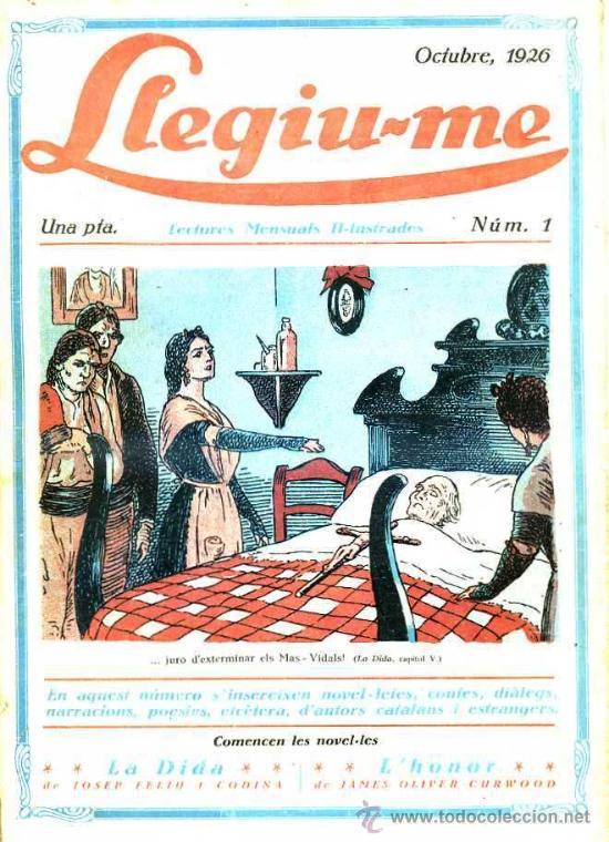 LLEGIU-ME ANY I Nº 1 - OCTUBRE 1926 -EN CATALÁN (Coleccionismo - Revistas y Periódicos Antiguos (hasta 1.939))