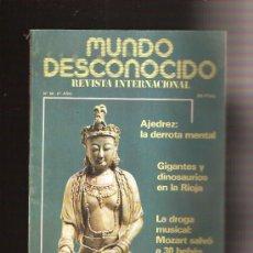 Coleccionismo de Revistas y Periódicos: MUNDO DESCONOCIDO . Lote 38505452