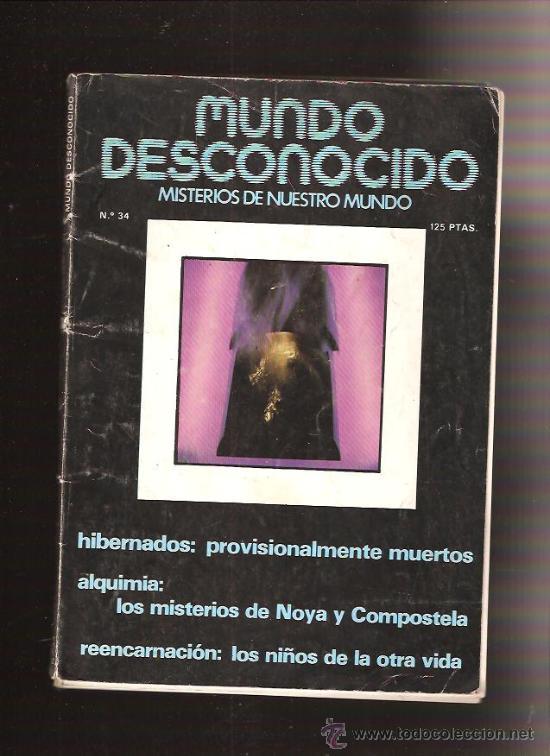 MUNDO DESCONOCIDO 34 (Coleccionismo - Revistas y Periódicos Modernos (a partir de 1.940) - Otros)