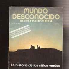 Coleccionismo de Revistas y Periódicos: MUNDO DESCONOCIDO 51. Lote 38505469