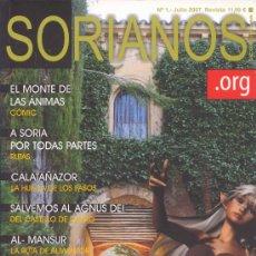 Coleccionismo de Revistas y Periódicos: SORIANOS (Nº1) (SORIA). Lote 29504150