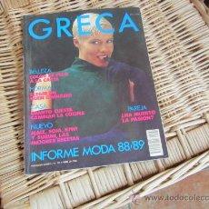 Coleccionismo de Revistas y Periódicos: REVISTA GRECA Nº 130, GANCHILLO, PUNTO CRUZ, MODA, PATRONES..... Lote 29561872