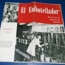 Coleccionismo de Revistas y Periódicos: EL EMBOTELLADOR REVISTA DE INDUSTRIAS DE REFRESCOS Y CERVEZAS. Lote 29579718
