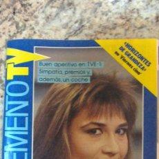 Coleccionismo de Revistas y Periódicos: REVISTA .SUPLEMENTO TV-Nº18-AÑO.88.(.JULIA OTERO,3X4,Y,MAS.). Lote 29588838
