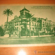Coleccionismo de Revistas y Periódicos: EL ANDALUCIA PALACE ANTES ALFONSO XIII EN SU REAPERTURADE SEVILLA HOJA REVISTA BLANCO Y NEGRO 1935. Lote 29612207
