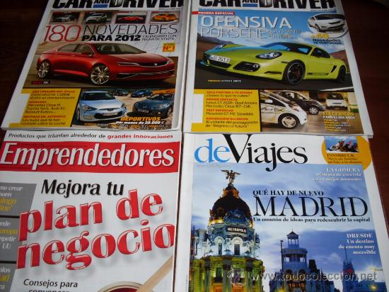 LOTE 4 REVISTAS VARIADAS (Coleccionismo - Revistas y Periódicos Modernos (a partir de 1.940) - Otros)