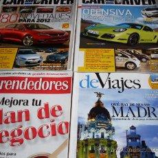 Coleccionismo de Revistas y Periódicos: LOTE 4 REVISTAS VARIADAS. Lote 29612449