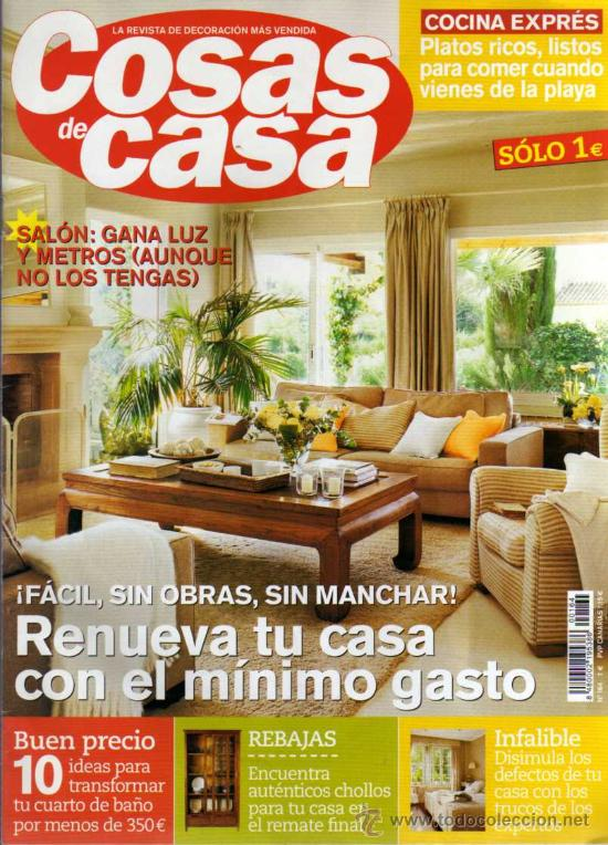 amazing good revista de decoracin cosas de casa n revistas y peridicos modernos with revistas decoracion online with decoracion de casa online - Revistas De Decoracion