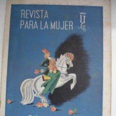 Coleccionismo de Revistas y Periódicos: REVISTA PARA LA MUJER MARZO 1941 Nº38. Lote 29651726