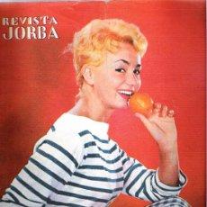 Coleccionismo de Revistas y Periódicos: REVISTA JORBA N.59. Lote 29663983