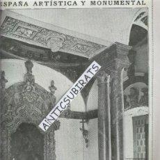 Coleccionismo de Revistas y Periódicos: REVISTA.AÑO 1919.MARQUES DE ECIJA.CAPILLA DE LOS VELEZ EN MURCIA.MARIA FERNANDA LADRON DE GUEVERA. . Lote 29666355