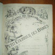Coleccionismo de Revistas y Periódicos: JOURNAL DES DEMOISELLES: PETIT COURIER DES DAMES – 1881 . Lote 29882723