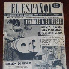 Coleccionismo de Revistas y Periódicos: EL ESPAÑOL Nº 311 - 20 NOVIEMBRE 1954 - SEMANARIO DE LOS ESPAÑOLES PARA TODOS LOS ESPAÑOLES. Lote 29728478