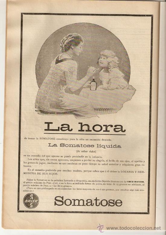 Coleccionismo de Revistas y Periódicos: REVISTA.AÑO 1912.LAS YEGUAS.TARRAGONA.SANTA TECLA.PREMIA.HUELGA FERROVIARIOS.ORFEO CATALA CIENFUEGOS - Foto 2 - 29731642