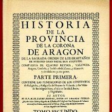 Coleccionismo de Revistas y Periódicos: ALCOY ALICANTE, REVISTA HISTORIA DE LA PROVINCIA CORONA ARAGON, REEDICION, A62. Lote 29764556