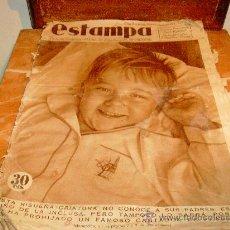 Coleccionismo de Revistas y Periódicos: REVISTA ESTAMPA. - SEP 1935-. Lote 29791894