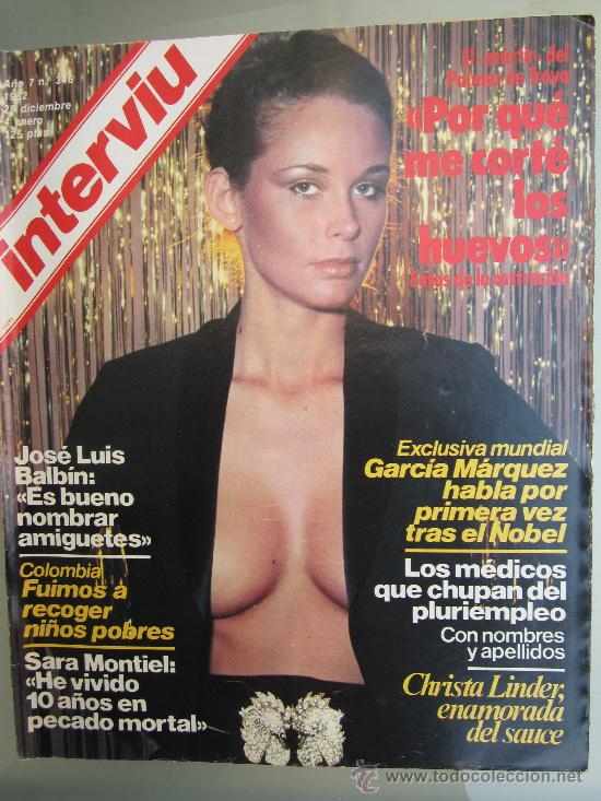 Interviu 346 Diciem 1982 Sara Montiel Sandra Sold Through Direct