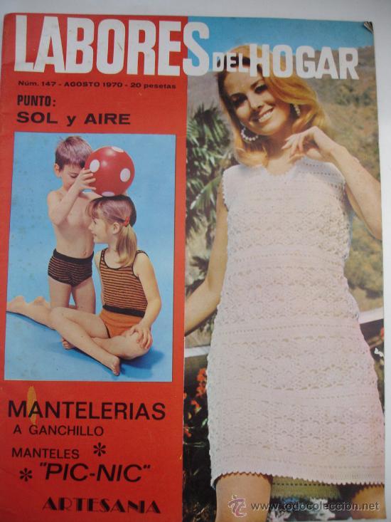 Coleccionismo de Revistas y Periódicos: lote 3 revistas LABORES DEL HOGAR agosto y octubre 1969 y agosto del 1970 - Foto 2 - 29845969