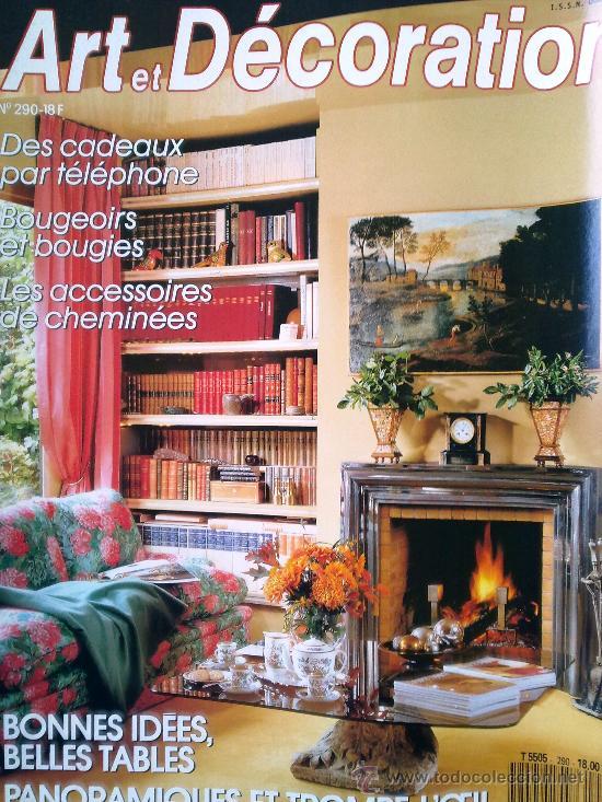 coleccionismo de revistas y peridicos lote 56 revistas art et decoration en francs aos - Revistas De Decoracion