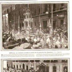 Coleccionismo de Revistas y Periódicos: REVISTA.AÑO1912.CUEVAS.CARTAGENA.SEVILLA.CORPUS.MADRID.BENLLIURE.CABO NOVAL.MASNOU.TEATRO DEL BOSQUE. Lote 29879606