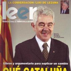 Coleccionismo de Revistas y Periódicos: REVISTA LEER. NÚMERO 149 - FEBRERO 2004. Lote 29886230