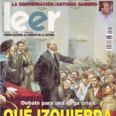 Coleccionismo de Revistas y Periódicos: REVISTA LEER. NÚMERO 146 - OCTUBRE 2003. Lote 29886277