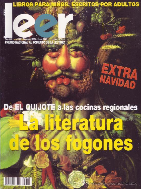REVISTA LEER. NÚMERO 128 - DICIEMBRE 2001 / ENERO 2002 (Coleccionismo - Revistas y Periódicos Modernos (a partir de 1.940) - Otros)