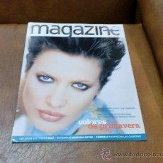 Coleccionismo de Revistas y Periódicos: REV . MAGAZINE 3/1997 NIEVES ALVAREZ AMPLIO RPTJE.CRISTINA HOYOS,PARQUES NATURALES,JOYAS DISEÑO DAL. Lote 29921072