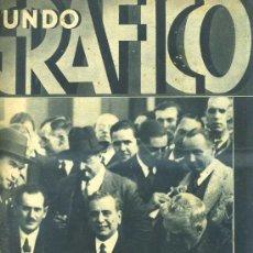 Coleccionismo de Revistas y Periódicos: MUNDO GRÁFICO 23 XI 1932. Lote 29925027