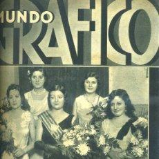 Coleccionismo de Revistas y Periódicos: MUNDO GRÁFICO 9 XI 1932. Lote 29926495