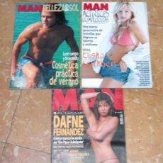 Coleccionismo de Revistas y Periódicos: REVISTA MAN. AÑO 2004. ACTRICES ROMPEDORAS. BELLEZA & SOL. Lote 30333744