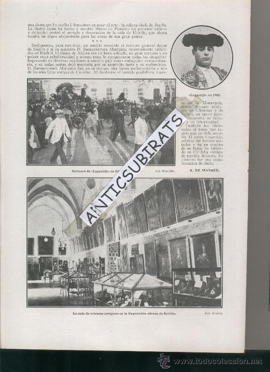 Coleccionismo de Revistas y Periódicos: REVISTA 1910 DUQUE DE NAJERA.AVIACION AVION.SANTOS DUMONT EN MADRID LAGARTIJO RCD ESPAÑOL FUTBOL - Foto 2 - 29944311