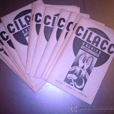 Coleccionismo de Revistas y Periódicos: CILACC, ARCHIVO ANTICOMUNISTA. REVISTA MENSUAL, AÑO 1934 COMPLETO (12 REVISTAS): EL COMUNISMO Y LOS. Lote 29948328