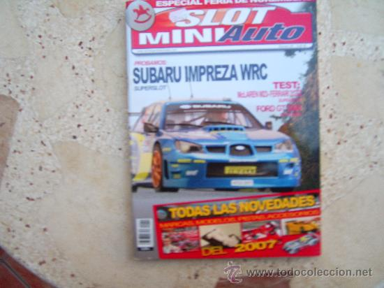 Slot Miniauto No  Subaru Impreza Mclaren Md Ferrari  T Ford