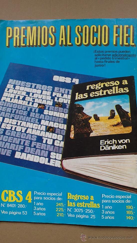 Coleccionismo de Revistas y Periódicos: &REVISTA--DISCO LIBRO.AÑO 1975.SERGIO Y ESTIBALIZ. - Foto 2 - 30118465
