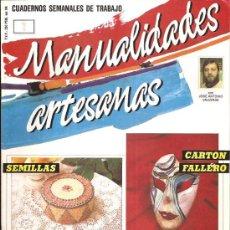Coleccionismo de Revistas y Periódicos: MANUALIDADES ARTESANAS. Lote 30069370