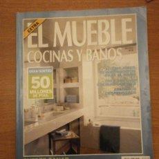 Coleccionismo de Revistas y Periódicos: REVISTA EL MUEBLE -COCINAS Y BAÑOS - Nº 10- . Lote 30107453