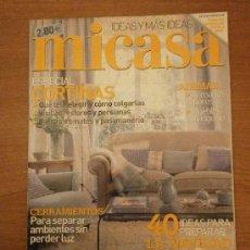 Coleccionismo de Revistas y Periódicos: REVISTA MI CASA -Nº 110- ESPECIAL CORTINAS . Lote 30107483