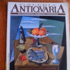 Coleccionismo de Revistas y Periódicos: ANTICUARIA . REVISTA DE ARTE ,ANTIGUEDADES Y COLECCIONISMO.1994 - Nº 121 - BENJAMIN PALENCIA. Lote 30122782