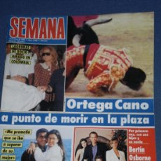 Coleccionismo de Revistas y Periódicos: REVISTA SEMANA , NUMERO 2866 ( 18 DE ENERO 1995 ) . . Lote 30138753