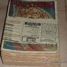 Coleccionismo de Revistas y Periódicos: LOTE DE 8 REVISTAS LECTURAS DE 1925. Lote 30150648