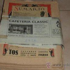Coleccionismo de Revistas y Periódicos: LOTE DE 4 REVISTAS LECTURAS DE 1928. Lote 30150721