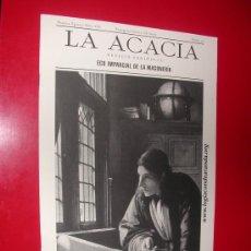 Coleccionismo de Revistas y Periódicos: LA ACACIA.ECO IMPARCIAL DE LA MASONERIA.LOGIA CONDE ARANDA. Nº 17. JUNIO 2003. Lote 30197778
