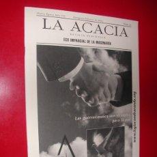 Coleccionismo de Revistas y Periódicos: LA ACACIA.ECO IMPARCIAL DE LA MASONERIA.LOGIA CONDE ARANDA. Nº 16. FEBRERO 2003. Lote 30197790