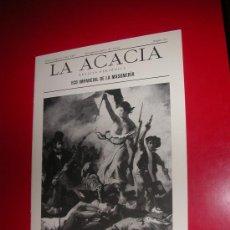 Coleccionismo de Revistas y Periódicos: LA ACACIA.ECO IMPARCIAL DE LA MASONERIA.LOGIA CONDE ARANDA. Nº 20. JUNIO 2004. Lote 30197865