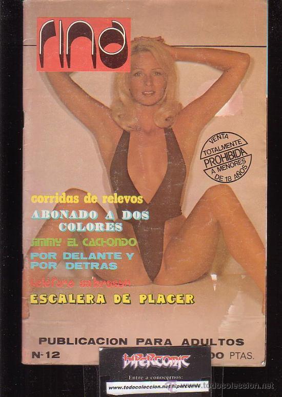 RINA, Nº 12, REVISTA EROTICA DE LOS AÑOS 70 (Coleccionismo - Revistas y Periódicos Modernos (a partir de 1.940) - Otros)