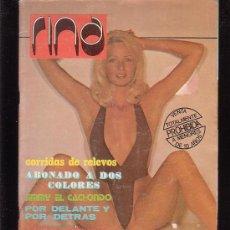 Coleccionismo de Revistas y Periódicos: RINA, Nº 12, REVISTA EROTICA DE LOS AÑOS 70. Lote 30206335