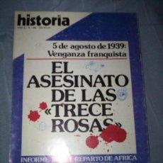 Coleccionismo de Revistas y Periódicos: REVISTA Nº 106 1984 LAS TRECE ROSAS - GUERRA CIVIL. Lote 30280584