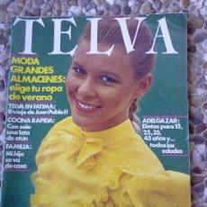 Coleccionismo de Revistas y Periódicos: REVISTA TELVA. Lote 30288136